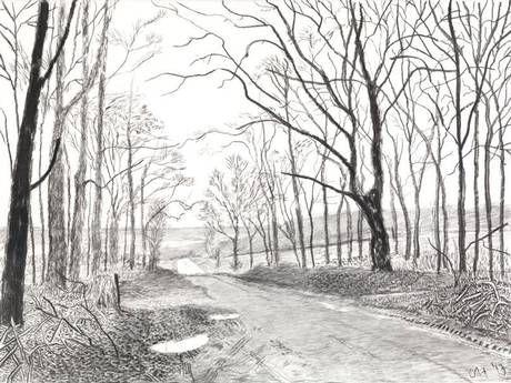 David Hockney 'Woldgate' (2013)