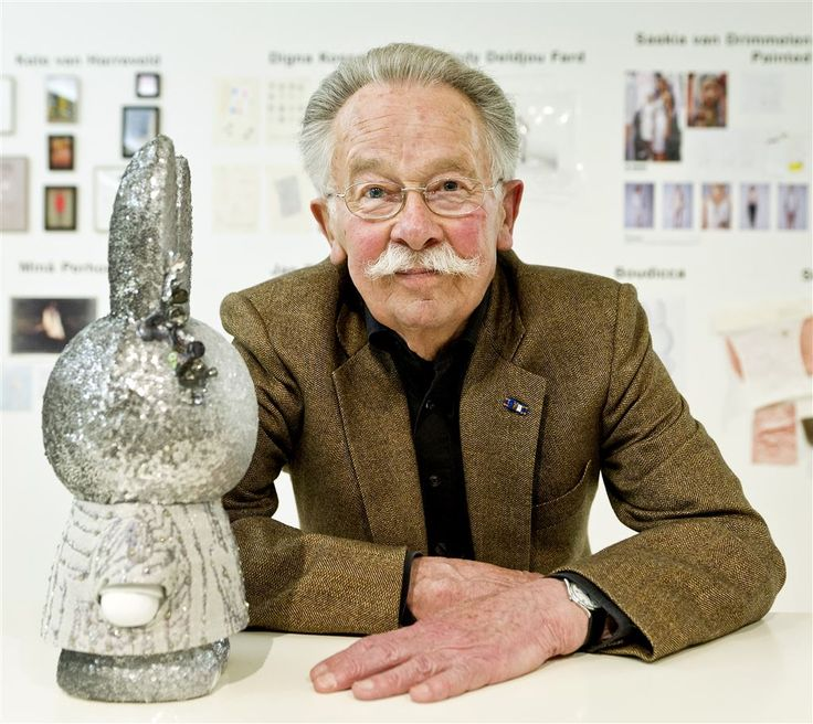 Nijntje-tekenaar Dick Bruna overleden