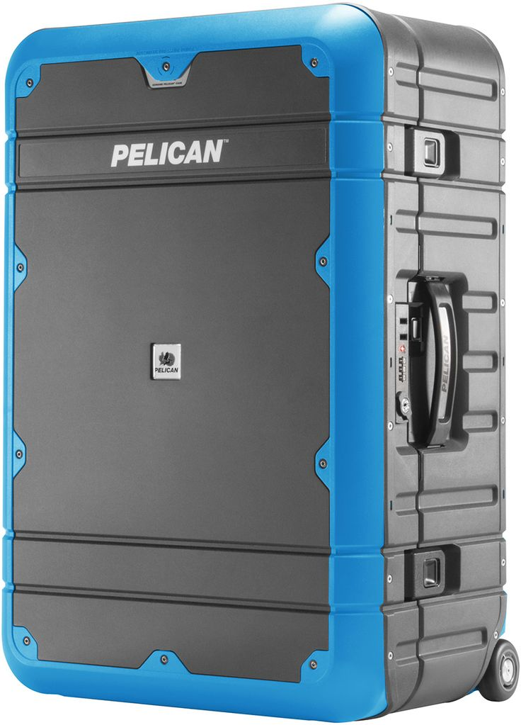 pelican peli products EL27 best strong toughest blue travel suitcase