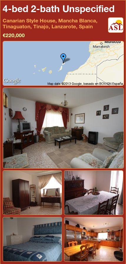 Lanzarote Villas For Sale Inland
