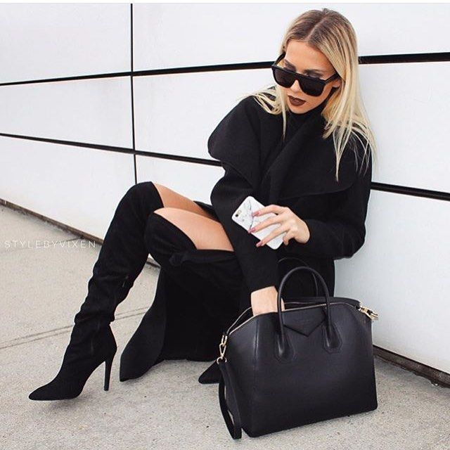 This girl is always on point!❤️ @stylebyvixen looking amazing wearing our black waterfall coat and Givenchy inspired bag!  Shop at www.fashiondrug.eu  #love #fashion #style #fashioninspo #ootd #shop #fashiondrug