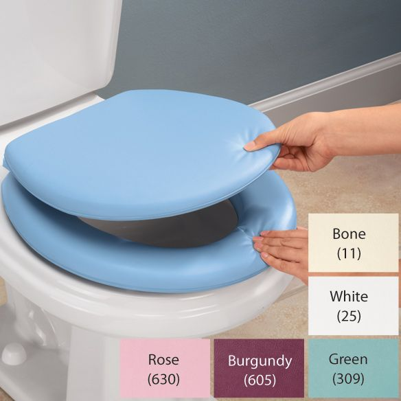 Home Birth Supply List: Replace the cold hard toilet seat with a nice padded vinyl one. It's a relief during pregnancy, labor and postpartum. Lots of moms spend a majority of time laboring on the toilet because it's the 'natural' 'accustomed' place to be.