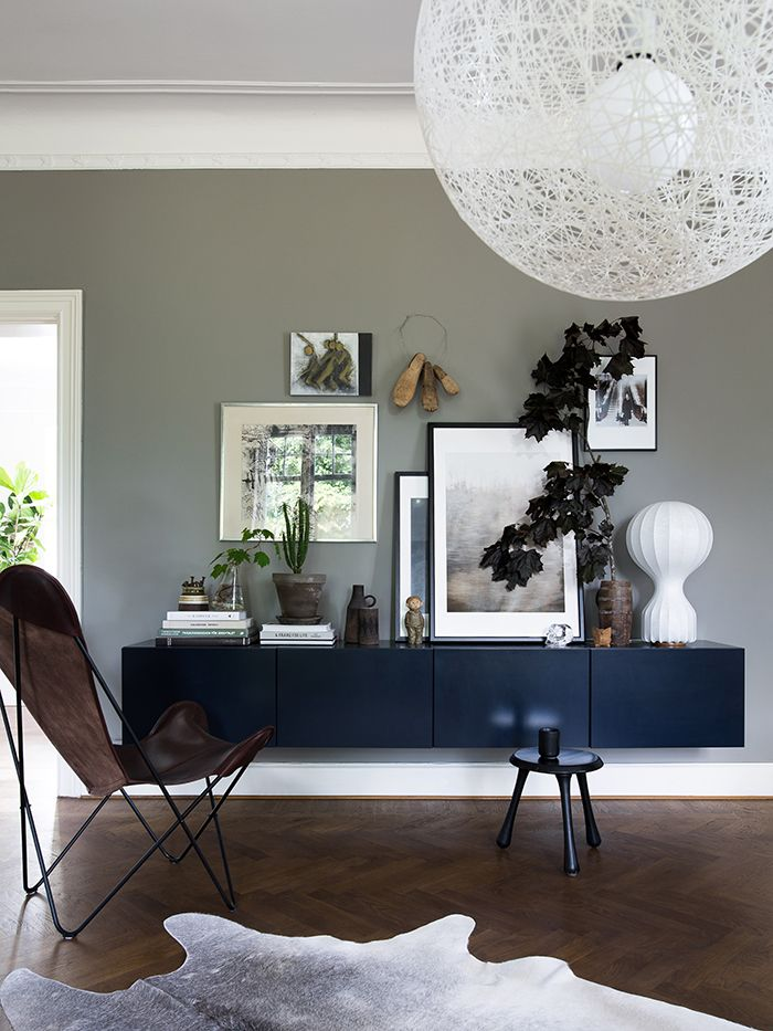 Style and Create —I'm so inspired by the latest number of Swedish Elle Decoration and in particular by the stunning home of Daniella Witte. Don't miss this great home tour! ♡   Photo by Daniella Witte