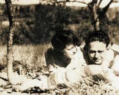 Kurt Tucholsky mit Lisa Matthias, 1928