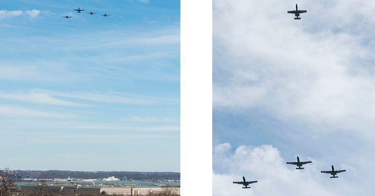 The Father of the A-10 Warthog Remembered With Missing Man Formation