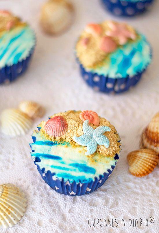 Cupcakes a diario: Tarta de queso con cerezas confitadas y manzana + Confesiones que necesito compartir