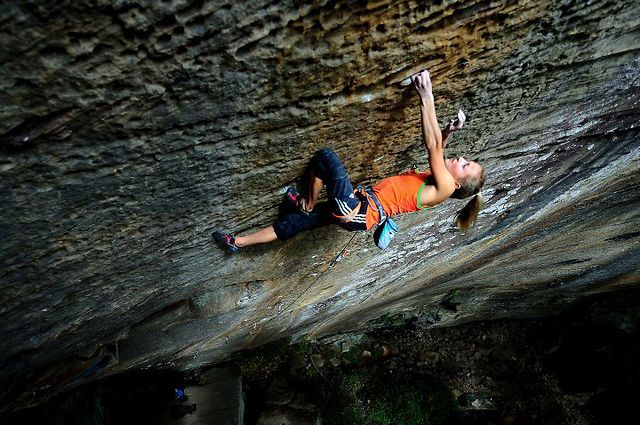 """Sasha DiGiulian.  """"Pure Imagination""""  5.14d (9a). by adidas Outdoor. Filmed and Edited by: 3SM"""