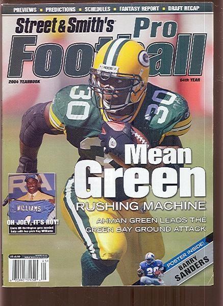 2004 Athlon Sports Pro Football Magazine Ahman Green Packers (80993)