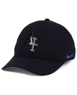 Nike Air Force Falcons Col Cap - Black L/XL https://www.fanprint.com/licenses/air-force-falcons?ref=5750