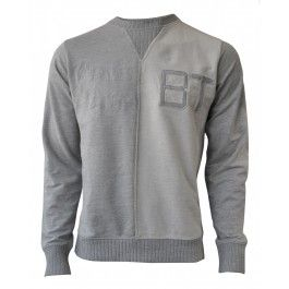 BOLONGARO TREVOR REVERSE CREW (LIGHT GREY) Sale £35