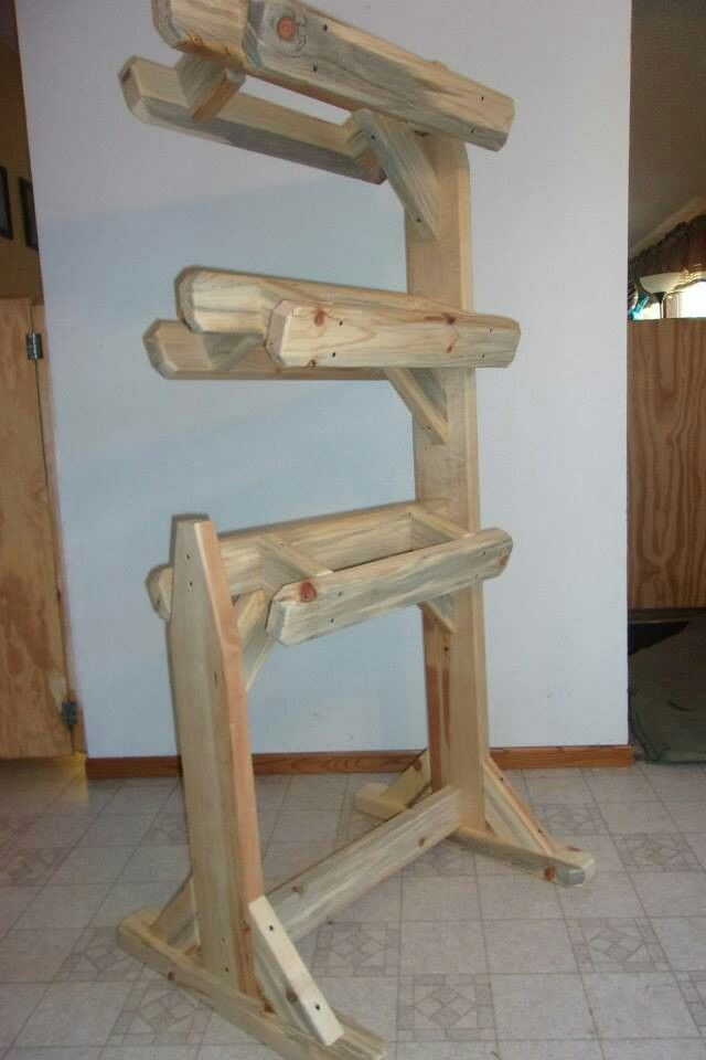 how to make a saddle stand