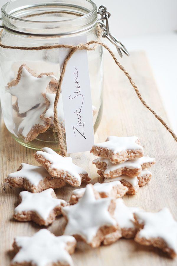 Zimtsterne - German Christmas Cookie