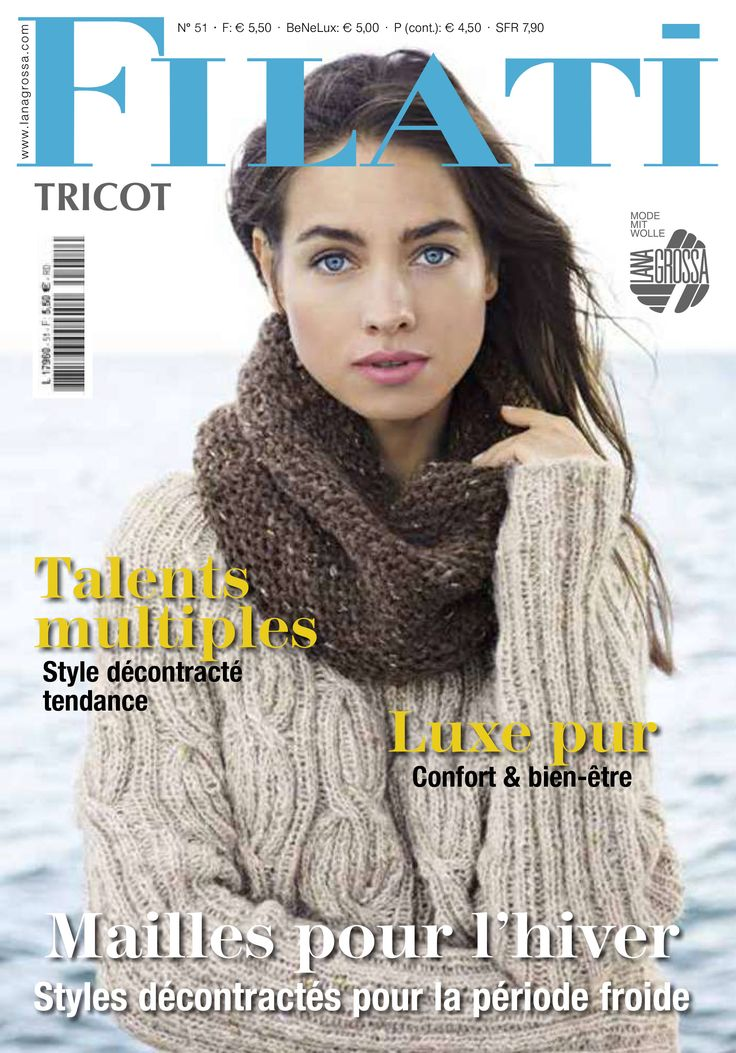 Lana Grossa FILATI tricot No. 13 (FR) | Boutique FILATI Lana Grossa-Store.fr