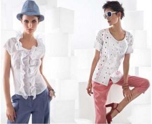 nara camicie primavera estate 2013 bianco