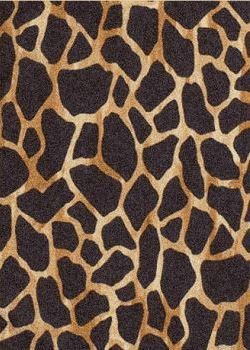 Tapis 100% laine faits main, hand tufted - Collection Wild Life dessin WL-91