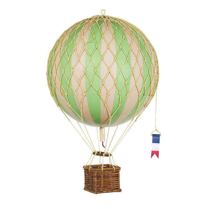 Travels Light luftballong, grön – Authentic Models – Köp online på Rum21.se