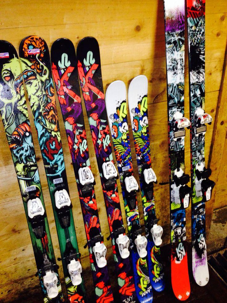 K2 twintip skis FTW!