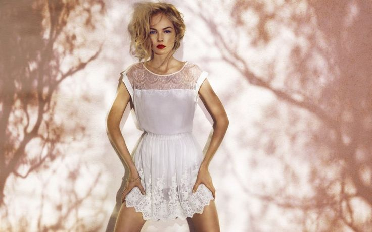 """Siri Tollerod for Stradivarius """"Brighten Me Up"""" Summer 2012 Campaign by Nico: Summer Collection, Summer 2012, Summer Looks, Fashion Style, Cute Dresses, Stradivarius Summer, Siri Tollerod, White Lace Dresses, White Dresses"""