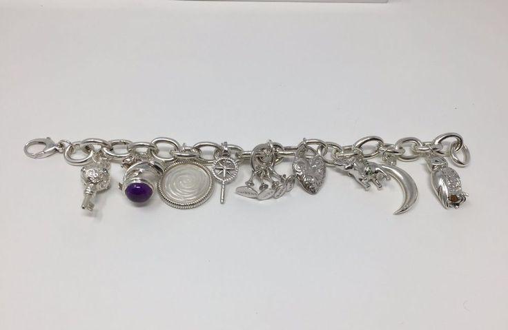 Monica Rich Kosann Sterling Silver Charm Bracelet | Jewelry & Watches, Fine Jewelry, Fine Charms & Charm Bracelets | eBay!
