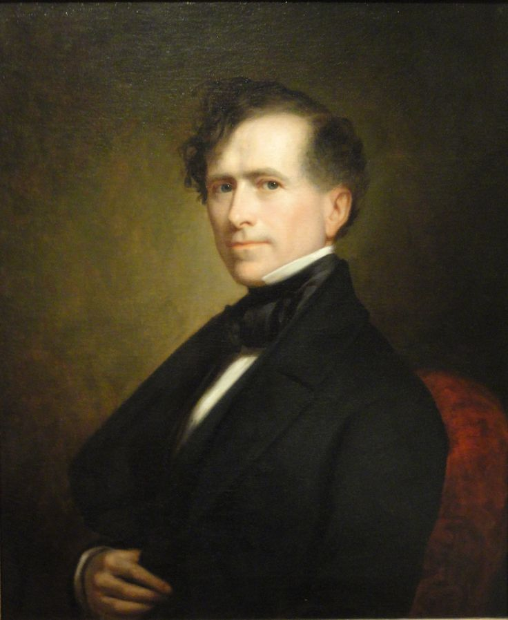 Franklin Pierce became 14th President of the United States at a time of apparent tranquility (1853-1857). By pursuing the recommendations of southern advisers, Pierce—a New Englander—hoped to ease the divisions that led eventually to Civil War. Learn more: http://go.wh.gov/Q1xZz9