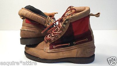 #men shoes boots for sale on ebay Sebago men boots size 8 brown leather withing our EBAY store at  http://stores.ebay.com/esquirestore