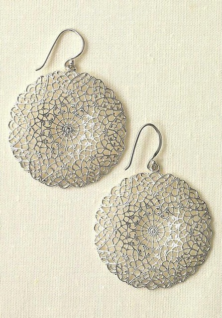 LOVE these earrings! The silver is great!