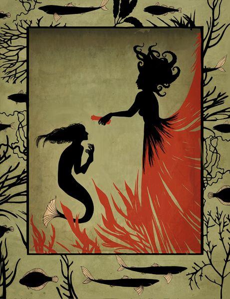 "Hans Christian Andersen ""The Little Mermaid"" by Natalia Akimova"
