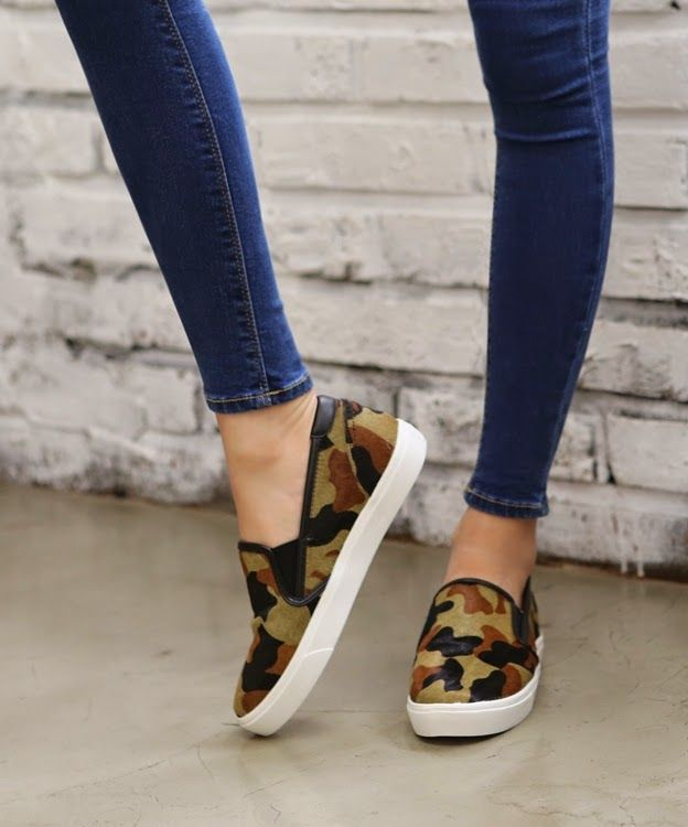 Fashion Online Clothing, Shoes and Dresses Shoemakker: Military pattern calf skin slip-on