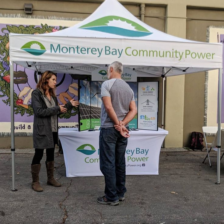 Monterey Bay Community Power representatives have been out and about sharing information about MBCP. We were at the Santa Cruz Farmers Market on Wednesday. #farmersmarket #santacruzfarmersmarket #sustainability #solar #greenenergy #goodenergy #renewableenergy #cleanenergy #windpower #communitychoiceenergy #cce #cca #renewables