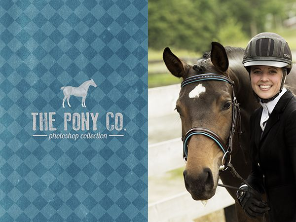 20% off Photoshop Design Action Templates at The Pony Co.