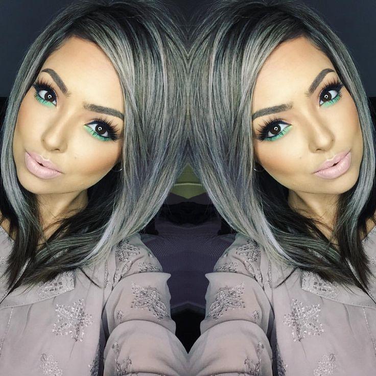 "gretel abounada on Instagram: ""late night makeup inspiration by @makeupbyrosec  #sheisabeast #loveher #mua #muarockdoll #rockdoll #toofacedmeltedlipstick #toofaced4vegasnay #toofaced #meltlipstick #meltsextlipstick #meltcosmetics #meltcosmeticssext #kokolashes #kokolashesgoddess #goddess #pravana #pravanapastels #pravanalusciouslavender #oribe #oribehair"""