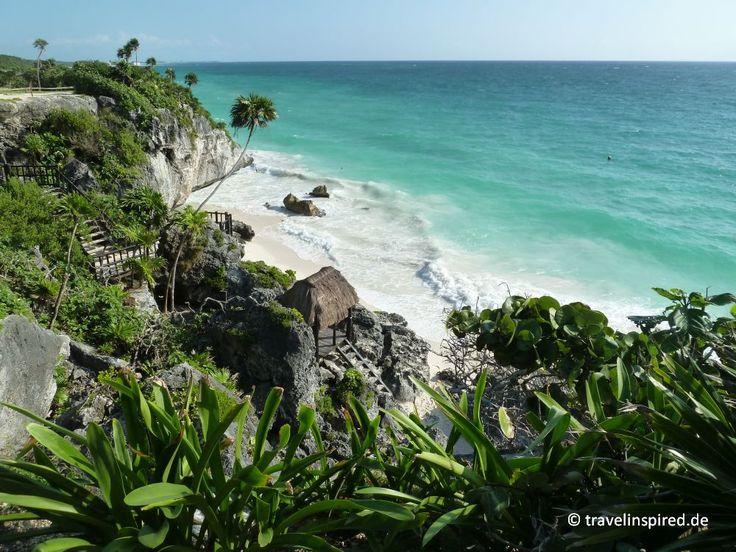 Entdecke faszinierende Maya-Ruinen auf Yucatan: Coba, verwunschen im Dschungel, Tulum, am türkisblauen Meer und die Weltkulturerbestätte Chitchen Itza.