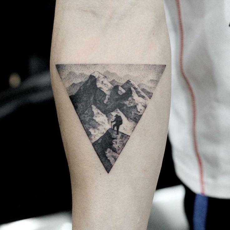 Die Leute bekommen Doppelbelichtungs-Tattoos und sie sind unglaublich