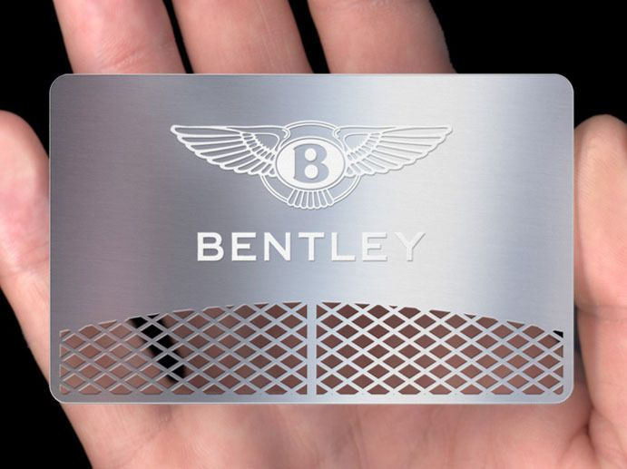 Metal Business Cards  Plasmadesign UK  Our metal business cards make a statement. Manufactured from cosmetic grade rolled stainless steel using state of the art photo-etching, automated milling and electrophoretic processes, they marry form and function perfectly.