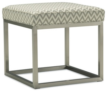 Duncan Cube Ottoman - contemporary - ottomans and cubes - Mitchell Gold + Bob Williams