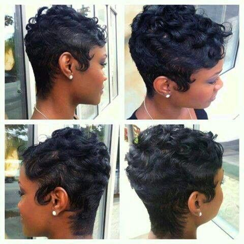 black hairstyles with bangs and layers : .tumblr.com/ now for more Short hair Styles: Hair Styles, Black Hair ...