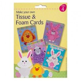 Each pack makes 4 cards. Browse our wide range of Easter decorations and crafts.