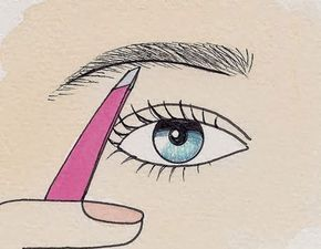 The Beauty Goddess: Once they grow back I am definitely doing this! How to pluck your eyebrows in 4 easy steps - I had no idea correctly plucked eyebrows had such a big effect on your face shape and cheekbones!