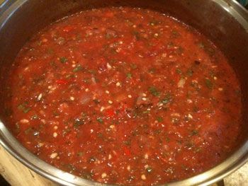 Authentic Mexican Salsa, Raw and Cooked - The Kitchen Garden