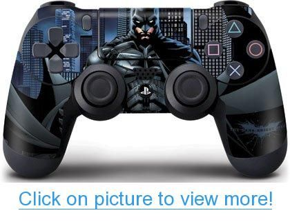 http://www.rechargegaming.com/playstation-4/ Batman The Dark Knight Skinit Skin for Sony PlayStation 4 / PS4 DualShock4 Controller
