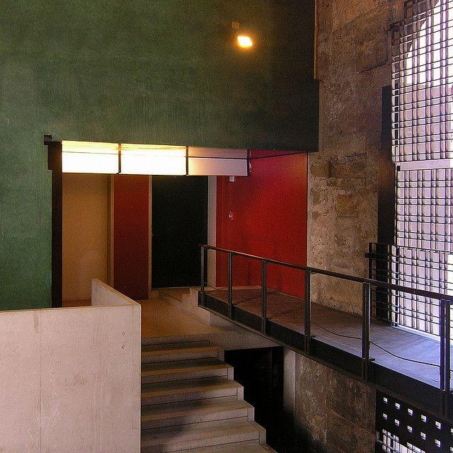 carlo scarpa, palazzo steri entrance, palermo 1973-1978 by seier+seier, via Flickr
