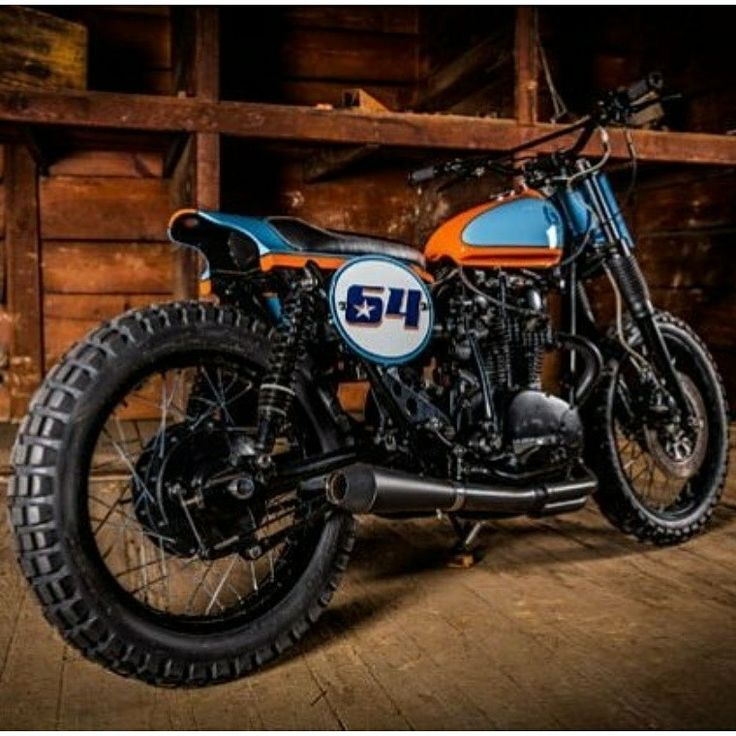 Who's ready for some Flat Track Racing on this awesome Yamaha XS650 built by Shalbleib?