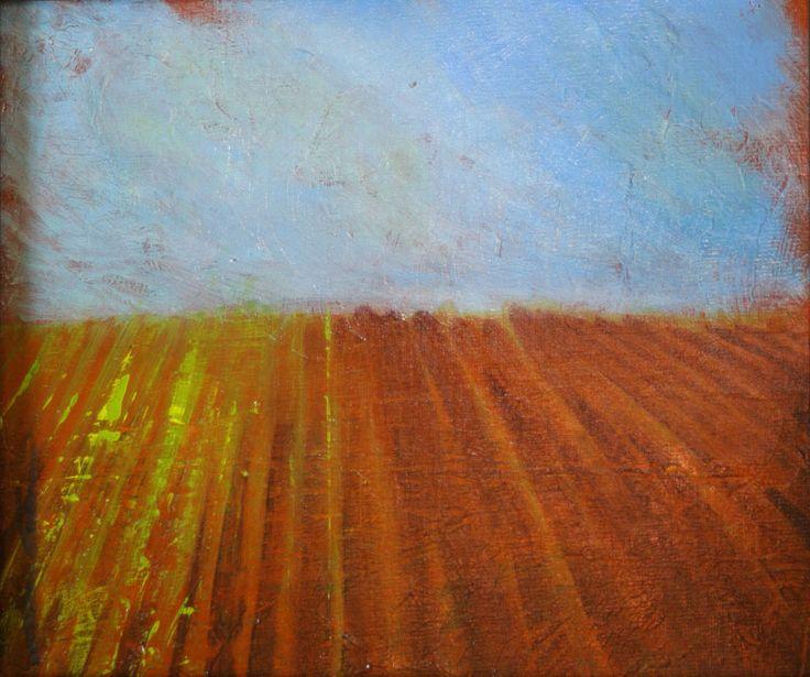 Plowed fields- spring18x36300