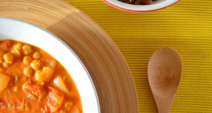 Indiase Kikkererwten Curry