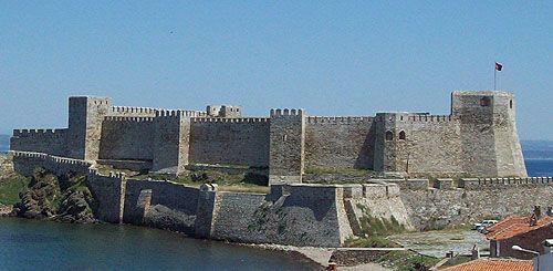 Bozcaada Castle, formerly known as Tenedos, Bozcaada, Bozcaada district, Çanakkale province, Turkey -