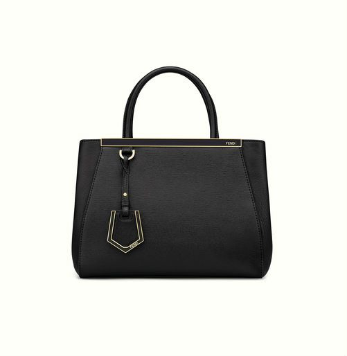 Fendi Petite 2Jours in black