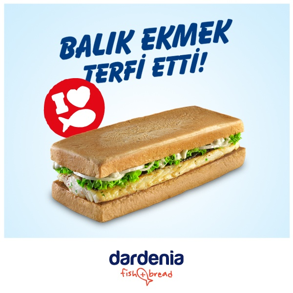 Dardenia mutfağından dört farklı balık seçeneğiyle Fish and Bread!    Mezgit Tava, Levrek Izgara, Somon Izgara ve Hamsi Tava! Balık aşkına!