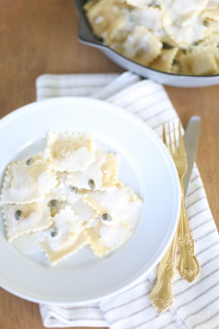 White Wine Lemon Caper Sauce!