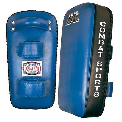 Strike Pads and Mitts 179789: Combat Sports Air Muay Thai Pads Mma Training Kickboxing Strike Kick Pads Blue -> BUY IT NOW ONLY: $89.99 on eBay!