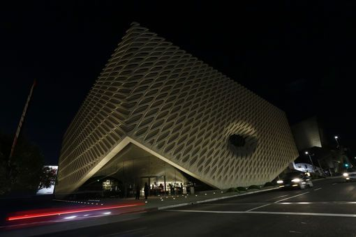 Le Broad museum au centre ville de Los Angeles
